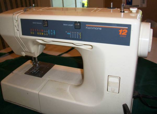 Sewing machine--Kenmore 12 stitch - $35 (west of Bulverde, TX)