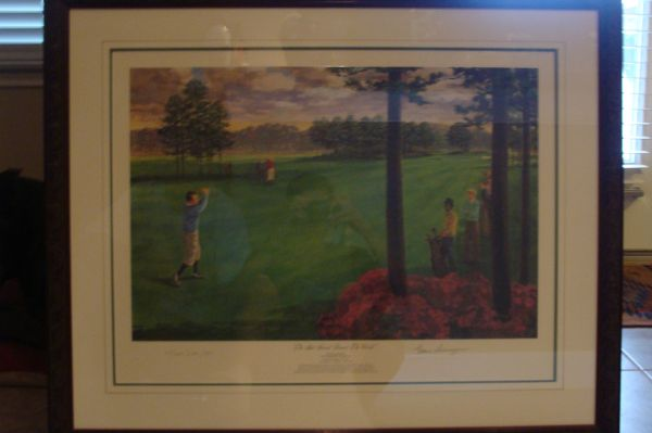 The Shot Heard Around the World - Signed Litho - $600 (Boerne)