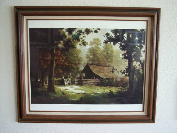 3 DALHART WINDBERG PRINTS - Large and Beautifully Framed - $75 (New Braunfels)