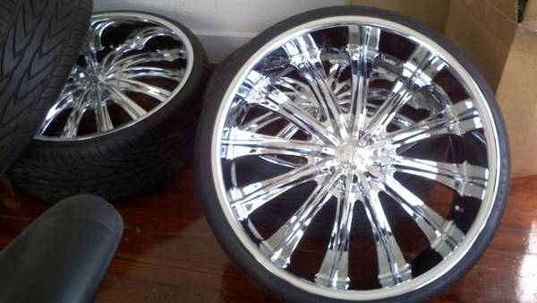26 Bentchi b15 rims on Toyo Proxes4 tires Clean LIKE NEW SET - $1900 ( San Antonio)