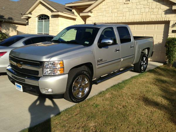 20 Silverado Texas Edition Rims and Tires - $800 (ne san antonio)