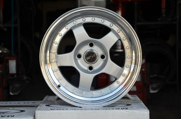 15 Wheels 4x100 Bolt Pattern (San Antonio)