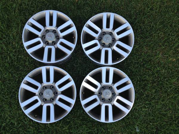 20 TOYOTA 4RUNNER FACTORY WHEELS RIMS - $600 (stone oak)
