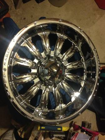 20x10 weld racing wheels - $800 (Bulverde tx)