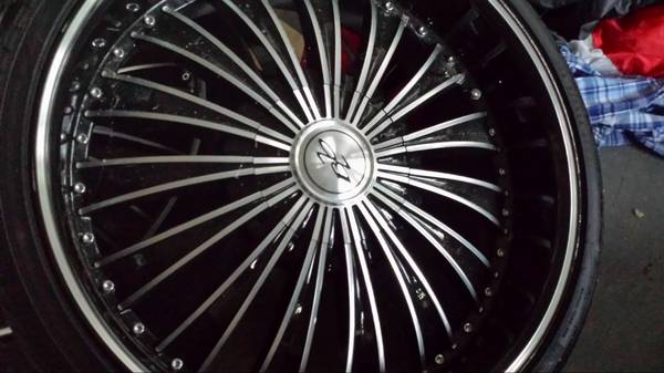 22 bzo rims with tires - $850 (160490)