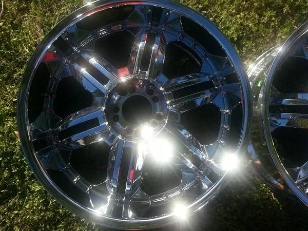 22 Inch VCT Chrome wheels 5x55x135 - $650 (NWSA)