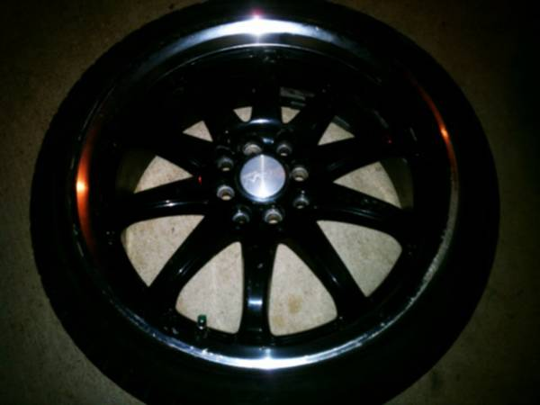 18 inch rims with low pro tires - $350 (N.W.)