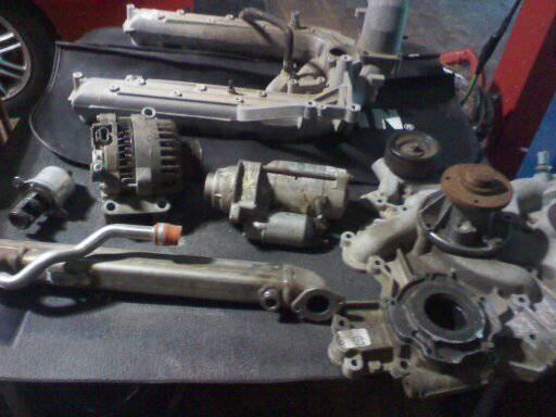 diesel motor parts have a new egr vale altenator, and more - $500 (SOUTH GILLETTE BLV)