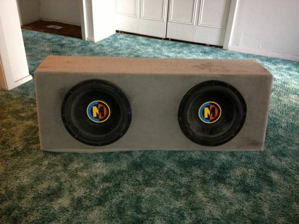 2 12 Memphis Subs with Box - $130 (NW SATX)