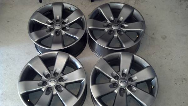 Four used 2012 Ford F150 FX4 20 Factory OEM Aluminum Alloy Wheels - $750 (northwest san antonio)