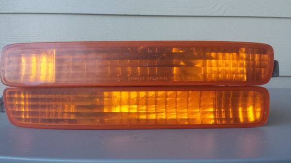 95-97 Honda Accord Bumper Covers, Front Turn Signals and Tail light - $20 (North Central)