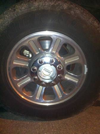 I have some 2006 king ranch rims and tires - $1 (New braunfels)