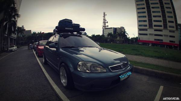 Yakima Roof Rack and Basket setup Honda Civic Acura Integra - $300 (SA)