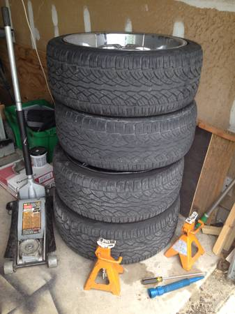22 rims and tires Make Offer - $800 (nw)