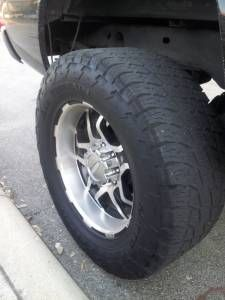 20x10 8 lug deep dish off road rims - $800 (Ne San Antonio)