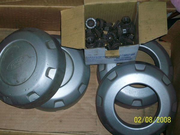 2006 Ford 17 F250 F350 Rims Tires Center Caps Wheels - $200 (Must Sell - LK)
