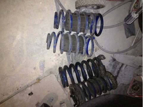 Lowering springs mustang - $100 (SA)