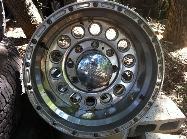 Ford Superduty Eagle Alloy Rims - $300 (1604 Babcock)