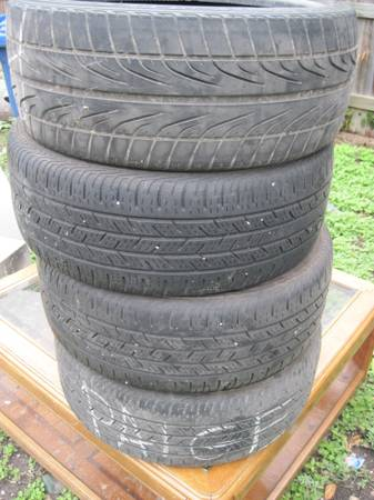TIRES 2054017 LOW PRO - $50 (ALAMODOME AREA)