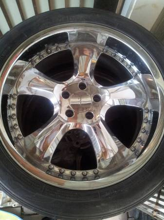 20 INCH RIMS (5 lug) - $500 (near lackland)