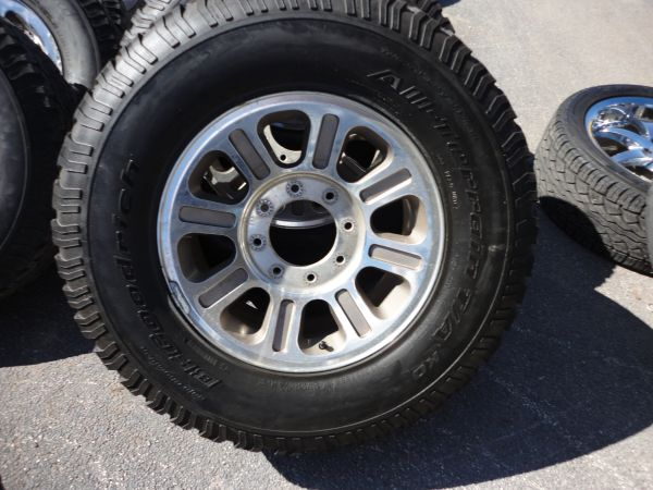 KING RANCH RIMS AND TIRES 17 - $600 (MEDICAL CENTER)