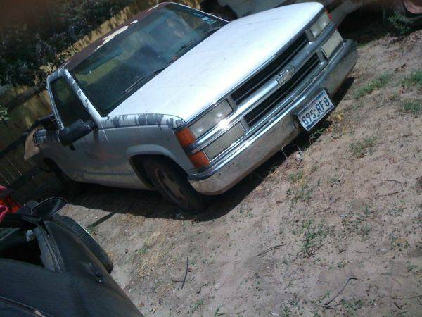 chevy truck parts, from 88- 99 (south san antonio)