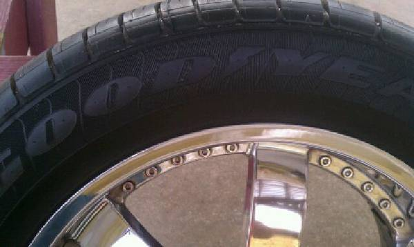 20 Custom Rims with NEW Goodyear Eagle LS2 Tire PACKAGE - $1000 (Southside San Antonio)