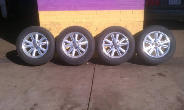 Mustang  Tires And Rims - $350 (Hwy 90 West)