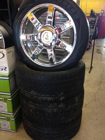 22 oem Cadillac escalade wheels tires - $850 (south)