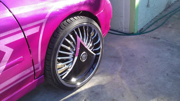 $$$$$$$$$$$ 24s DIAMOND SHOKKA DUB FLOATERS $$$$$$$ - $7500 (WESTSIDE)