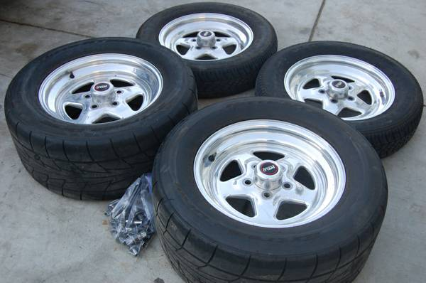 Pro Star style wheels w tires 5X114(4.5) - $750 (NW)