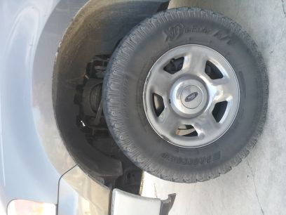 17 chrome ford F150 rims - $400 (san antonio)