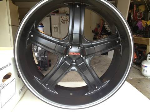 Boss 22 rims - $800 (Blanco and west)