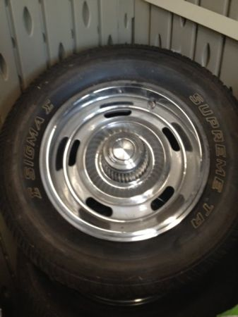 Chevy 14 G60 New Tires and Rims - $775 (San Antonio)