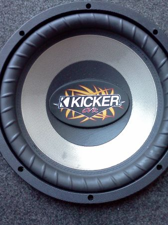two 12 inch Kicker Comp CVR subs - 800 Watts - $125 (Bandera 1604)