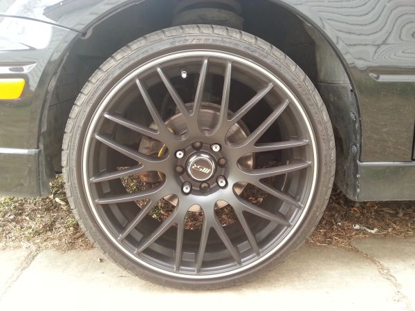 18 inch blk rims new tires all around - $500 (southeast side )