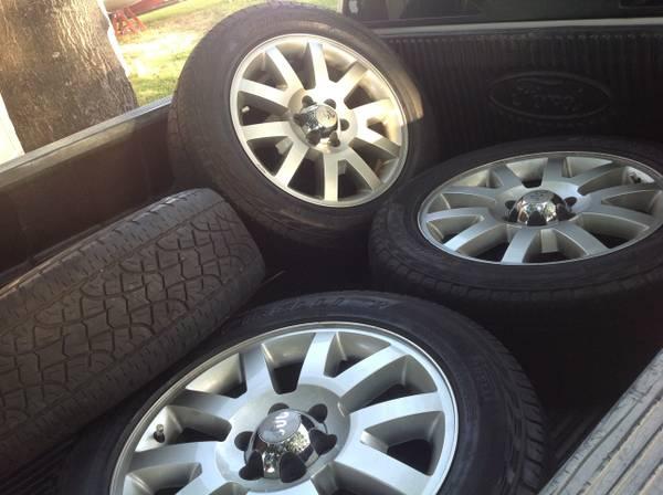 Ford  f150 king ranch 2011 OEM 20 rims tires - $750 (Schertz)