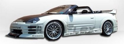 2000-2005 Mitsubishi Eclipse Body kit lip 4pc NEW - $399 (San Antonio )