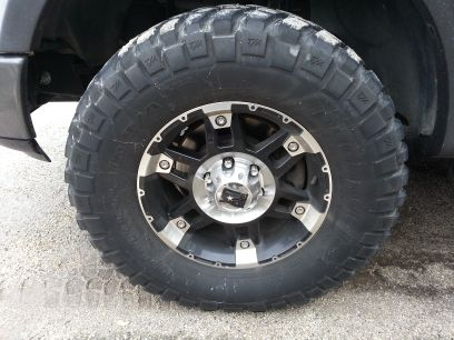 2004-08 Ford F150 xd spy rims and bfg mud tires for TRADE (N. San Antonio)
