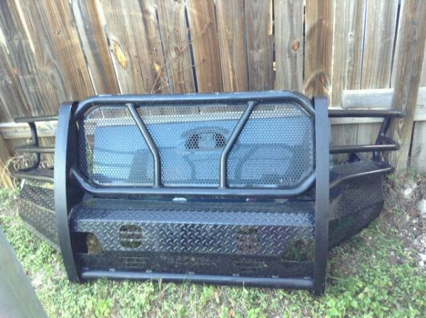 Brush guard Grill guard F150 F250 F350 - $100 (San Antonio)