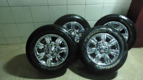 MICHELIN F4075X TIRES FORD F150 WFACTORY RIMS BRAND NEW - $400 (SAN ANTONIO)