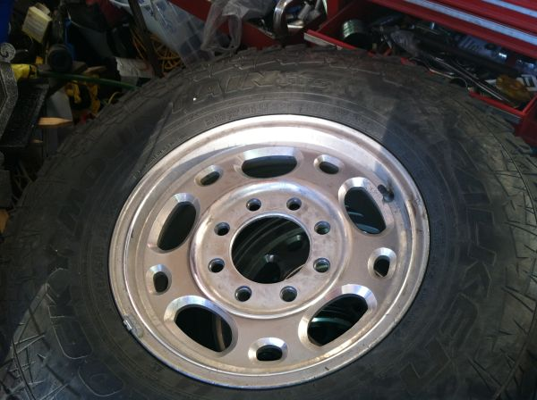 16in oem Chevy HD rims tires