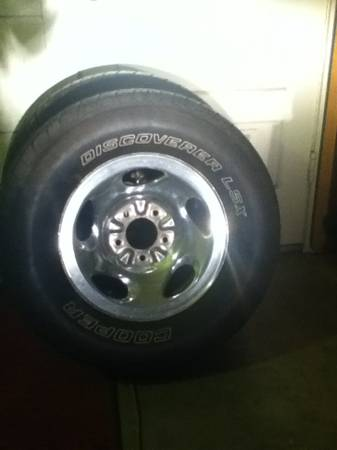 4 tires and rims for Ford-f150 (1997-2003) - $350 (Southeast san antonio )