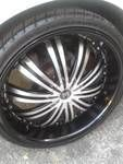 22 in black crave rims Trade for Blades - $900 (San Antonio,tx)