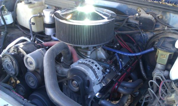 High Performance 355 TBIVortecCarb Engine Complete With Exhaust - $4500 (Abilene)