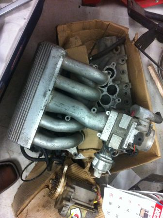 5.0 Mustang GT40 Tubular Intake with 70mm BBK Throttlebody and Spacer - $400 (New Braunfels)