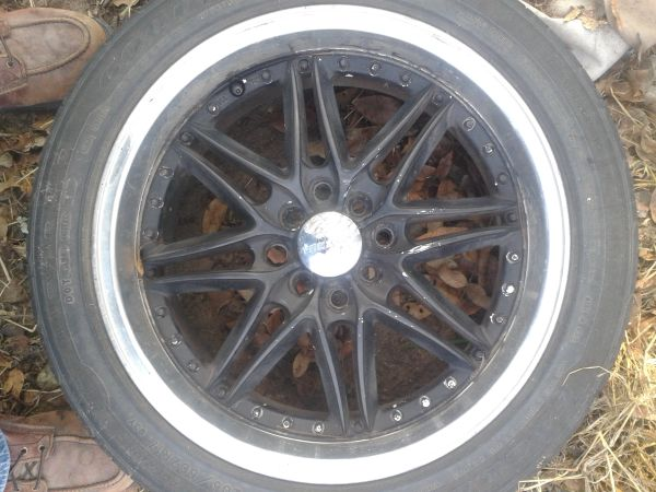 two 17 inch, 4 lug universal rims $85 (south sa)