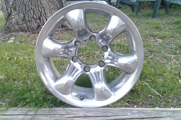 SET OF 4 EAGLE ALLOY RIMS-16X 8-6 LUG - $425 (NW SA)