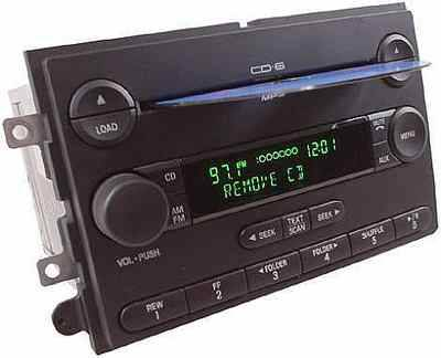 ( FORD RADIO 6 CD ) mp3 PLAYER FACTORY STOCK OEM - $115 (FITS 2004-up truck,car,SUV)