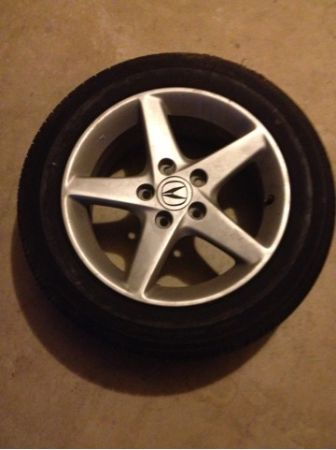 Rsx rims w tires - $150 (N side)